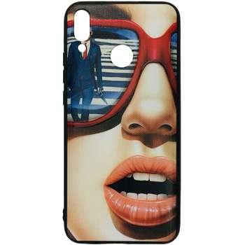 کاور طرح Face کد 1297 مناسب برای گوشی موبایل هوآوی Y9 2019