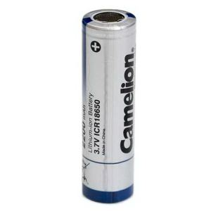 باتری لیتیوم-یون قابل شارژ کملیون کد ICR-18650 ظرفیت 2200 میلی آمپرساعت