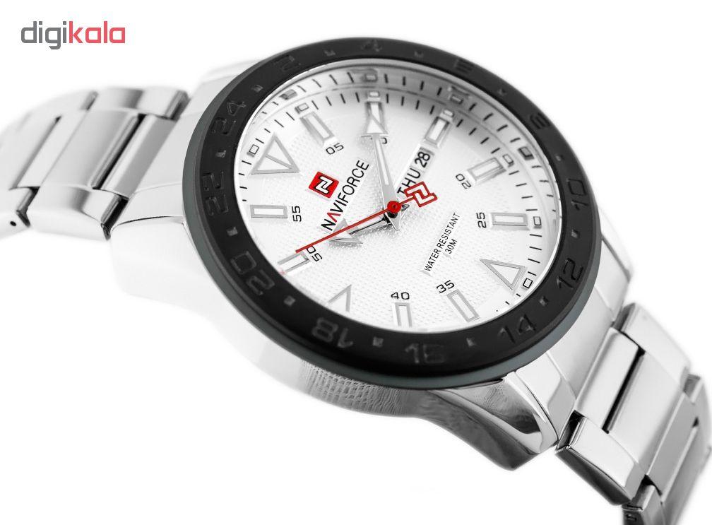 کد تخفیف                                      ساعت مچی عقربه ای مردانه نیوی فورس مدل NF9109W