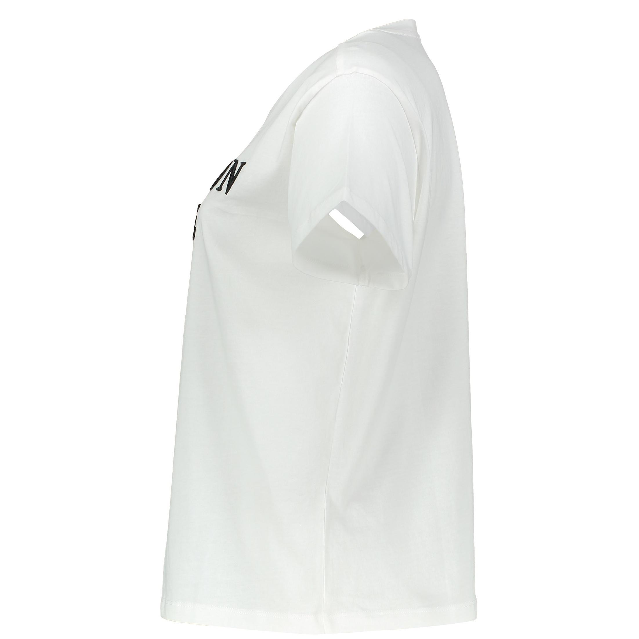 تی شرت نخی یقه گرد نه - مانگو