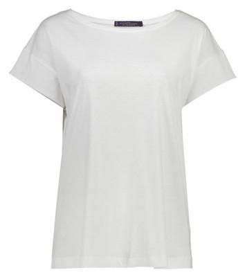 تصویر تی شرت نخی یقه گرد زنانه – ویولتا بای مانگو