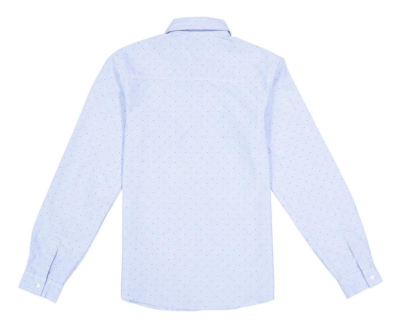 پیراهن نخی آستین بلند پسرانه - ایدکس
