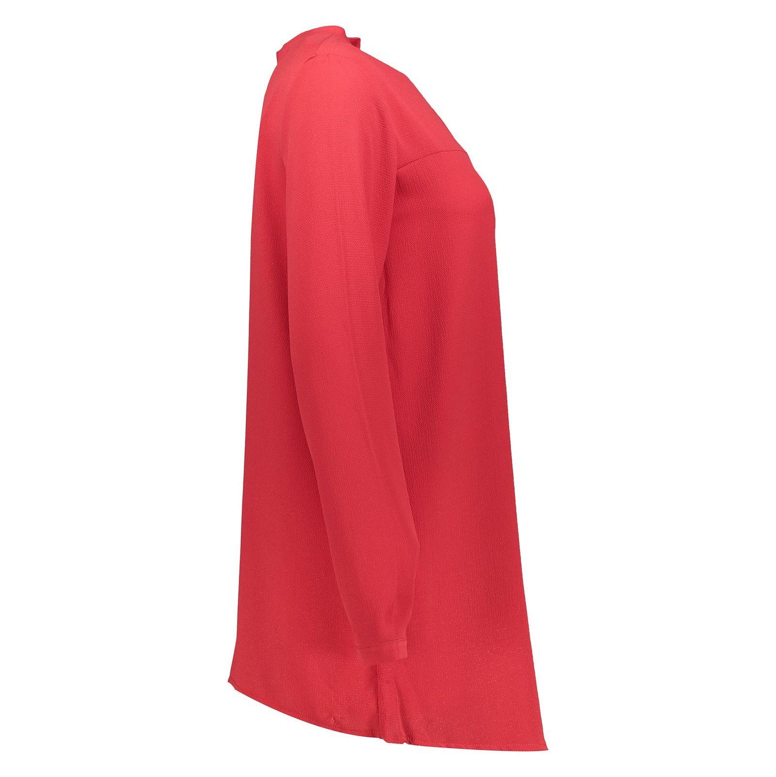 تونیک آستین بلند زنانه - دفکتو - قرمز - 3