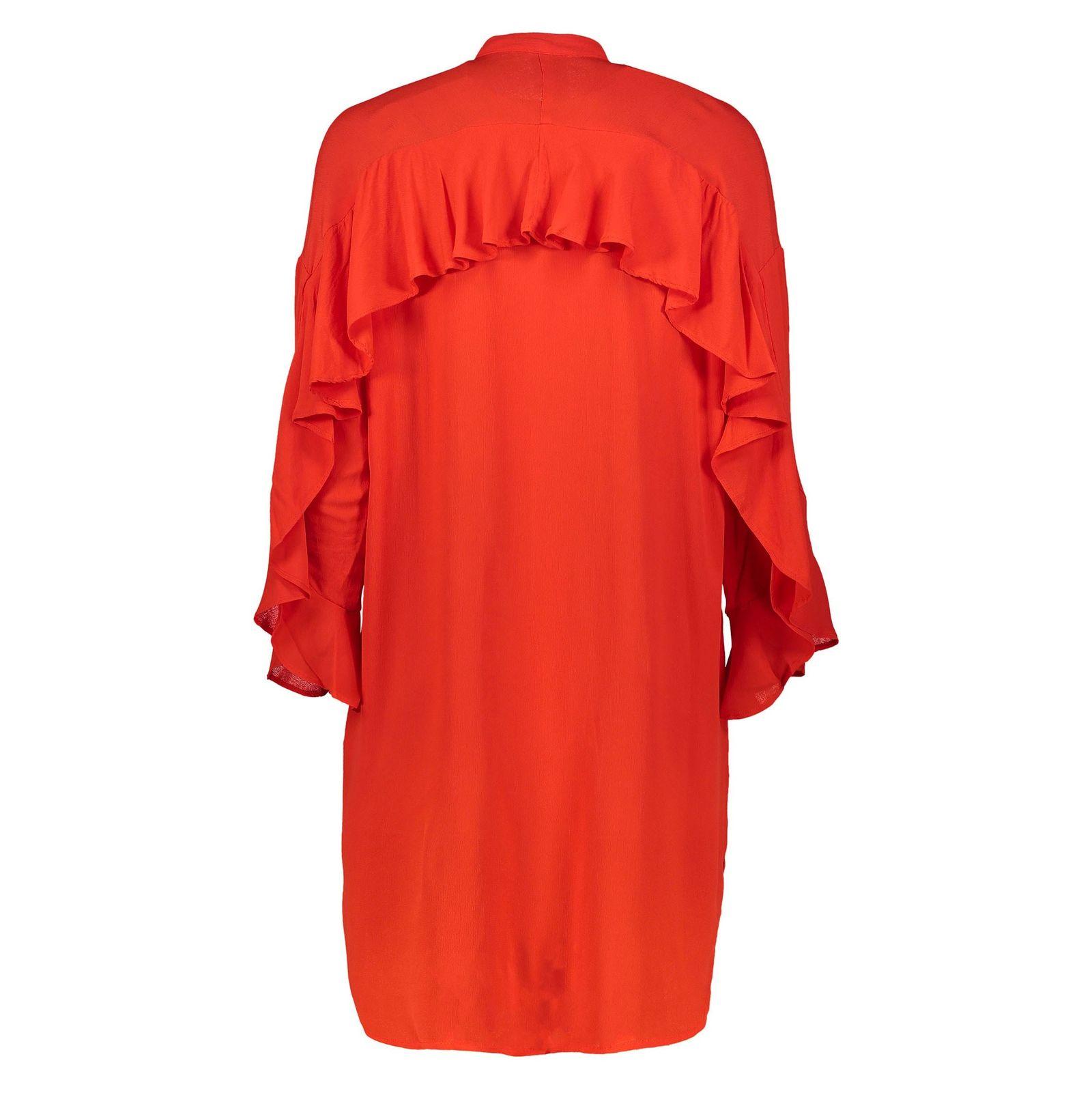تونیک ویسکوز بلند زنانه - ورو مدا - قرمز - 2