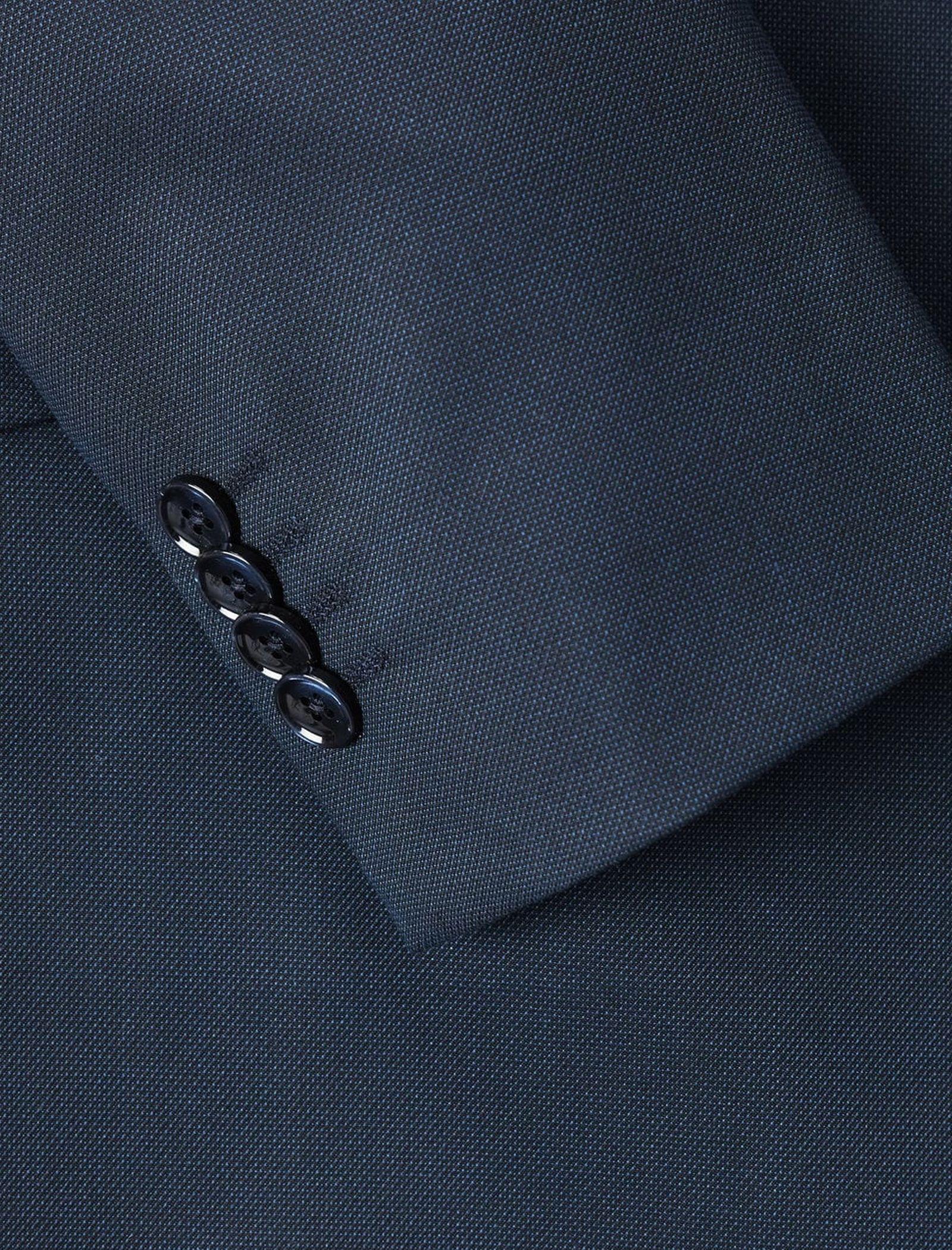 کت تک رسمی مردانه - مانگو - سرمه اي - 5
