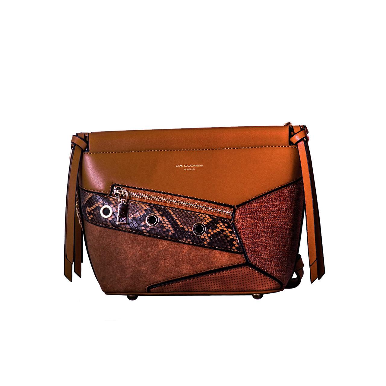 کیف رو دوشی زنانه دیوید جونز مدل 6178-1