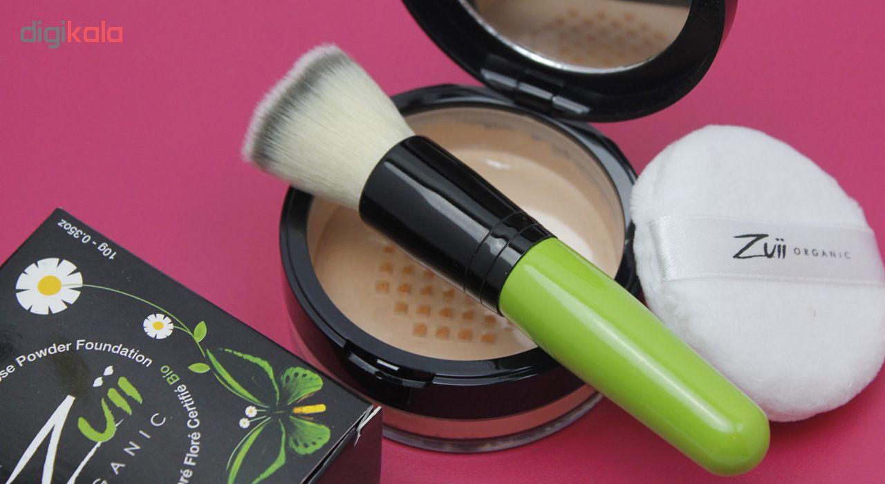 پودر تثبیت کننده آرایش زویی ارگانیک مدل Flora Dune