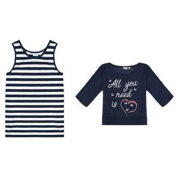 تی شرت ویسکوز یقه گرد دخترانه - بلوکیدز
