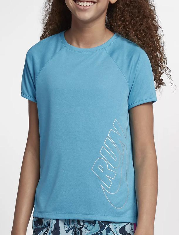 تی شرت ورزشی آستین کوتاه دخترانه - نایکی