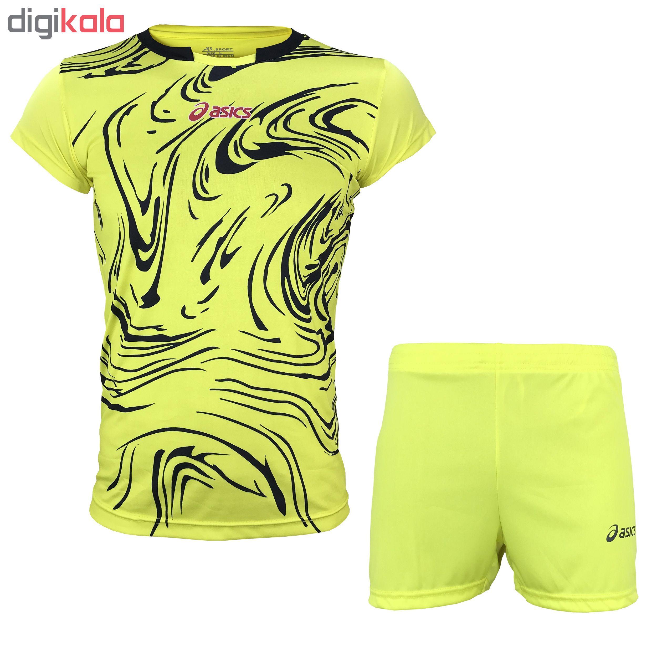 ست پیراهن و  ورزشی مردانه کد AC-Y
