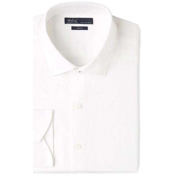پیراهن آستین بلند مردانه - مانگو