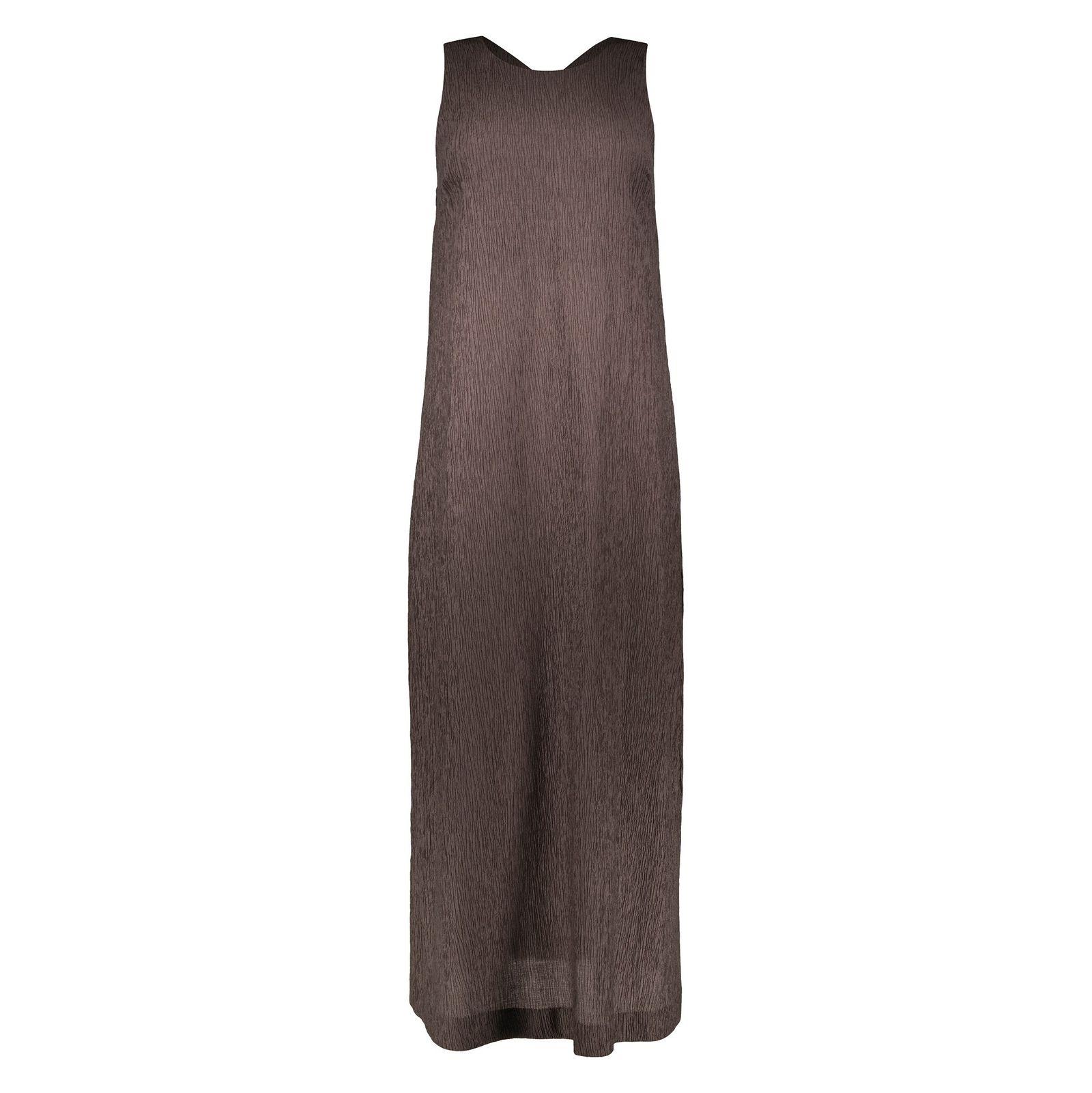 پیراهن بلند زنانه - استفانل - قهوه اي - 1