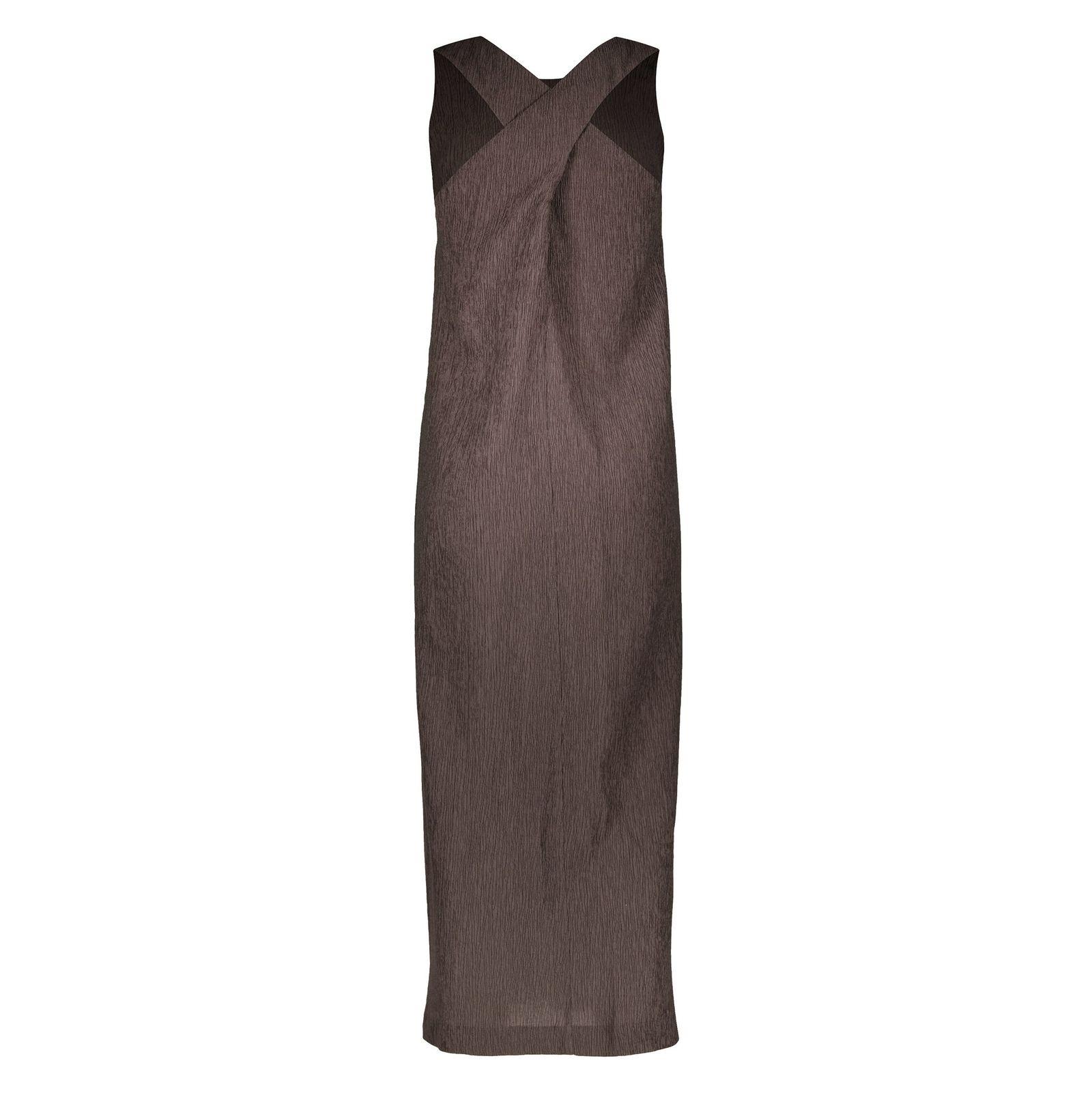 پیراهن بلند زنانه - استفانل - قهوه اي - 2