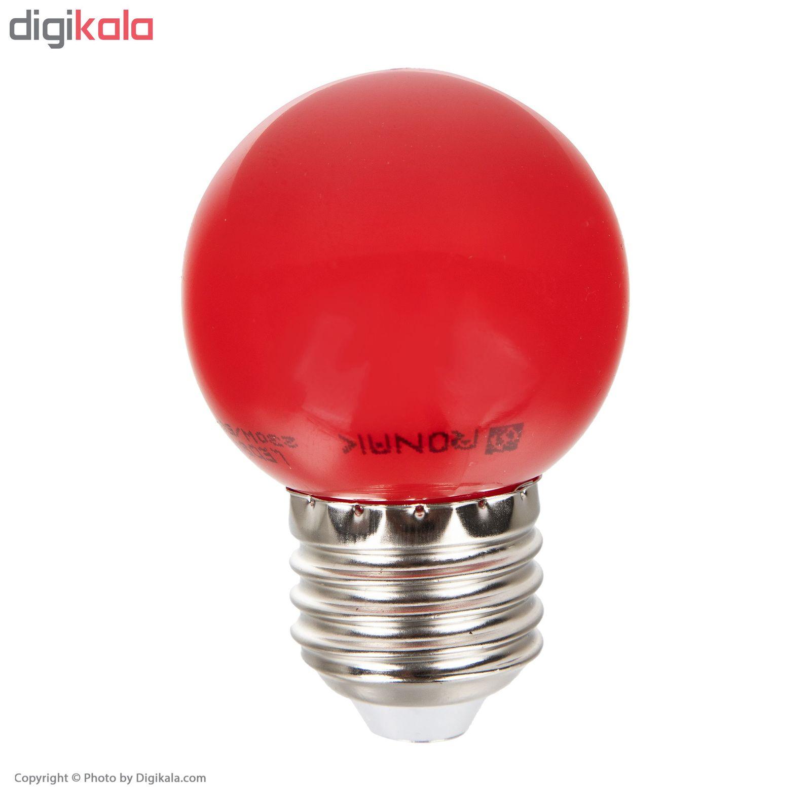لامپ ال ای دی 1 وات روناک مدل CLL پایه E27 main 1 2