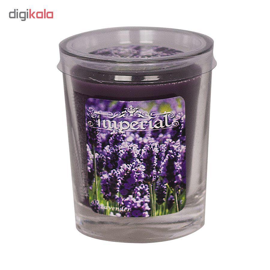 شمع لیوانی ایمپریال مدل Lavender main 1 1