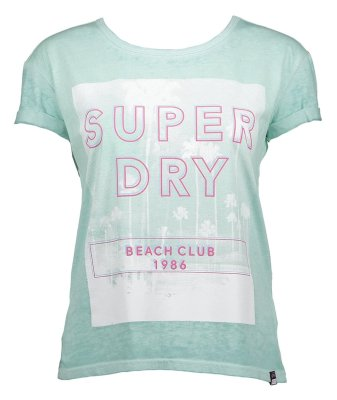 تصویر تی شرت یقه گرد زنانه – سوپردرای
