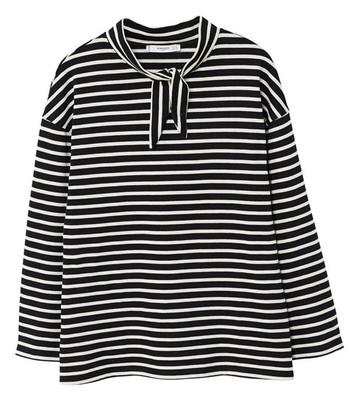 Photo of تی شرت نخی آستین بلند زنانه – مانگو