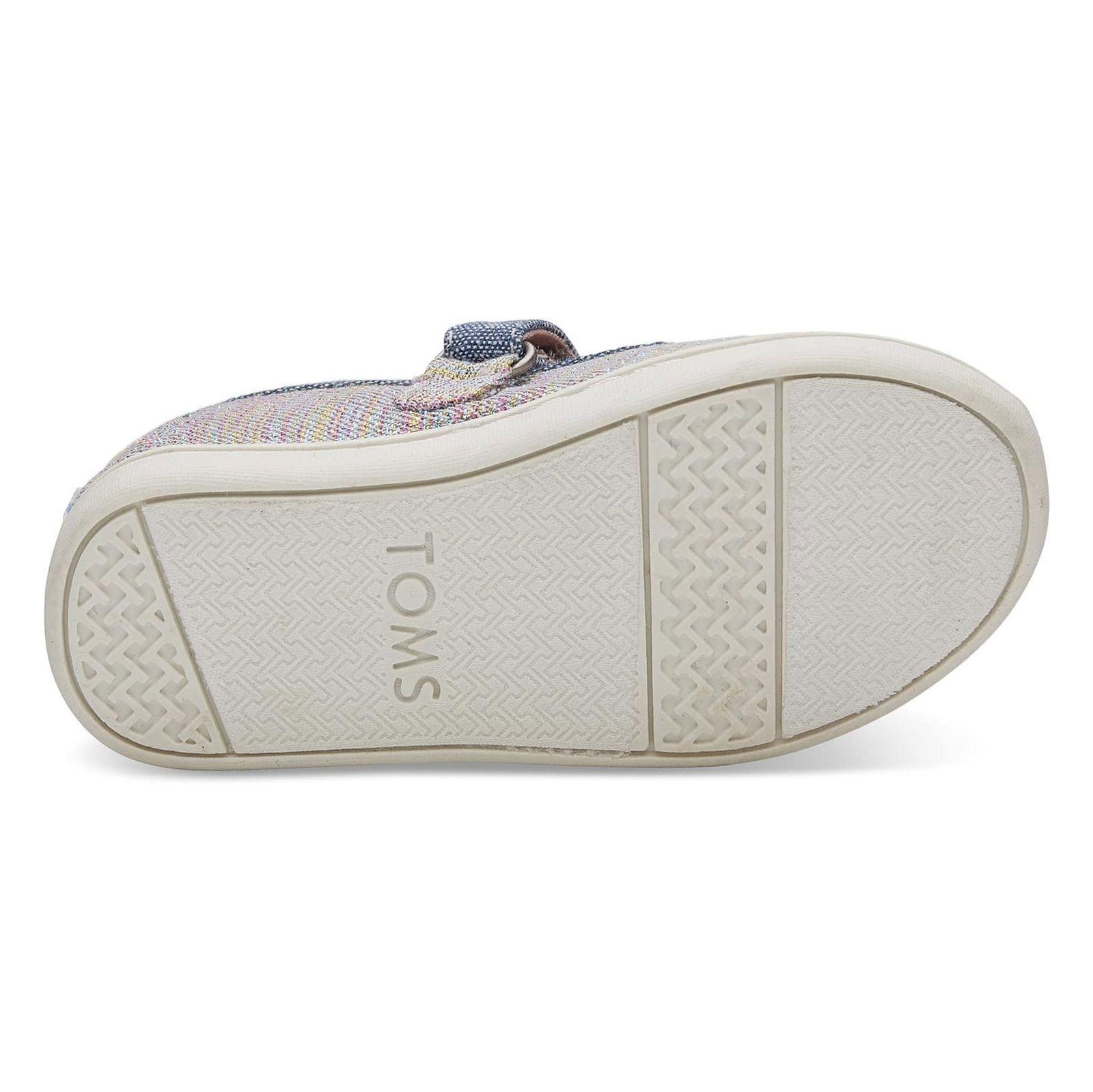 کفش پارچه ای چسبی دخترانه MARY - تامز - چند رنگ - 4