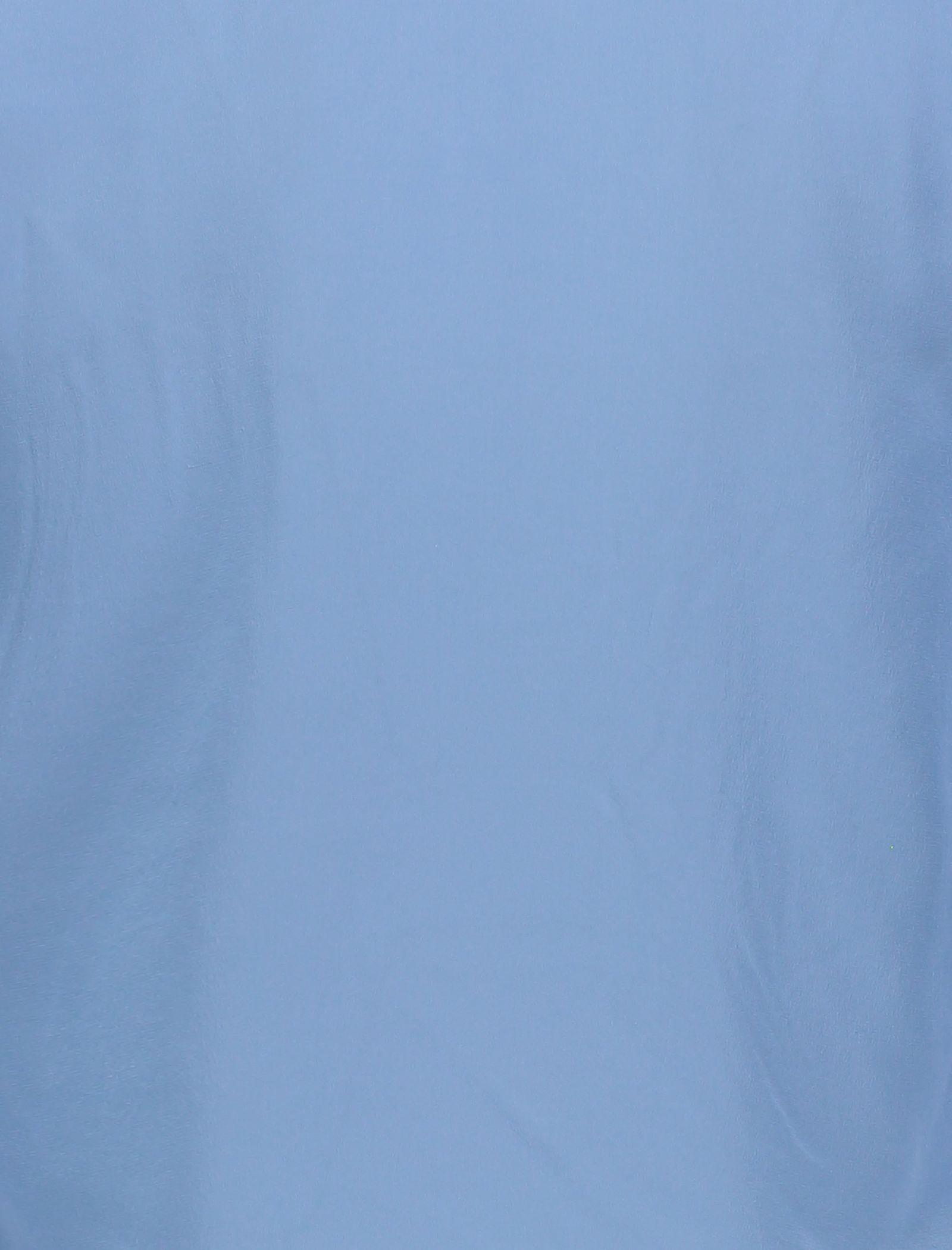 شومیز ابریشم آستین بلند زنانه - مینیموم - آبي - 5
