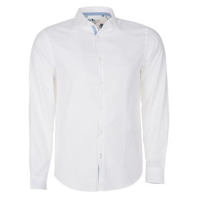 تصویر پیراهن نخی آستین بلند مردانه – جک اند جونز