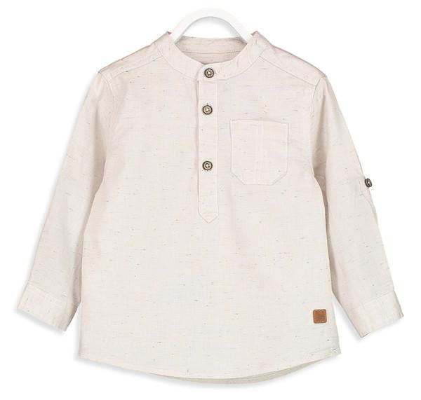 پیراهن نخی یقه گرد پسرانه - ال سی وایکیکی