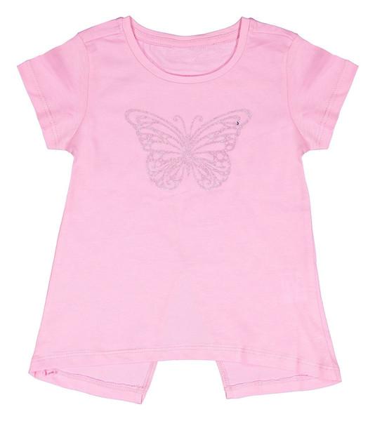 تی شرت نخی یقه گرد دخترانه - اپارکس