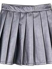 دامن کوتاه دخترانه Allie - تیفوسی - خاکستري - 1