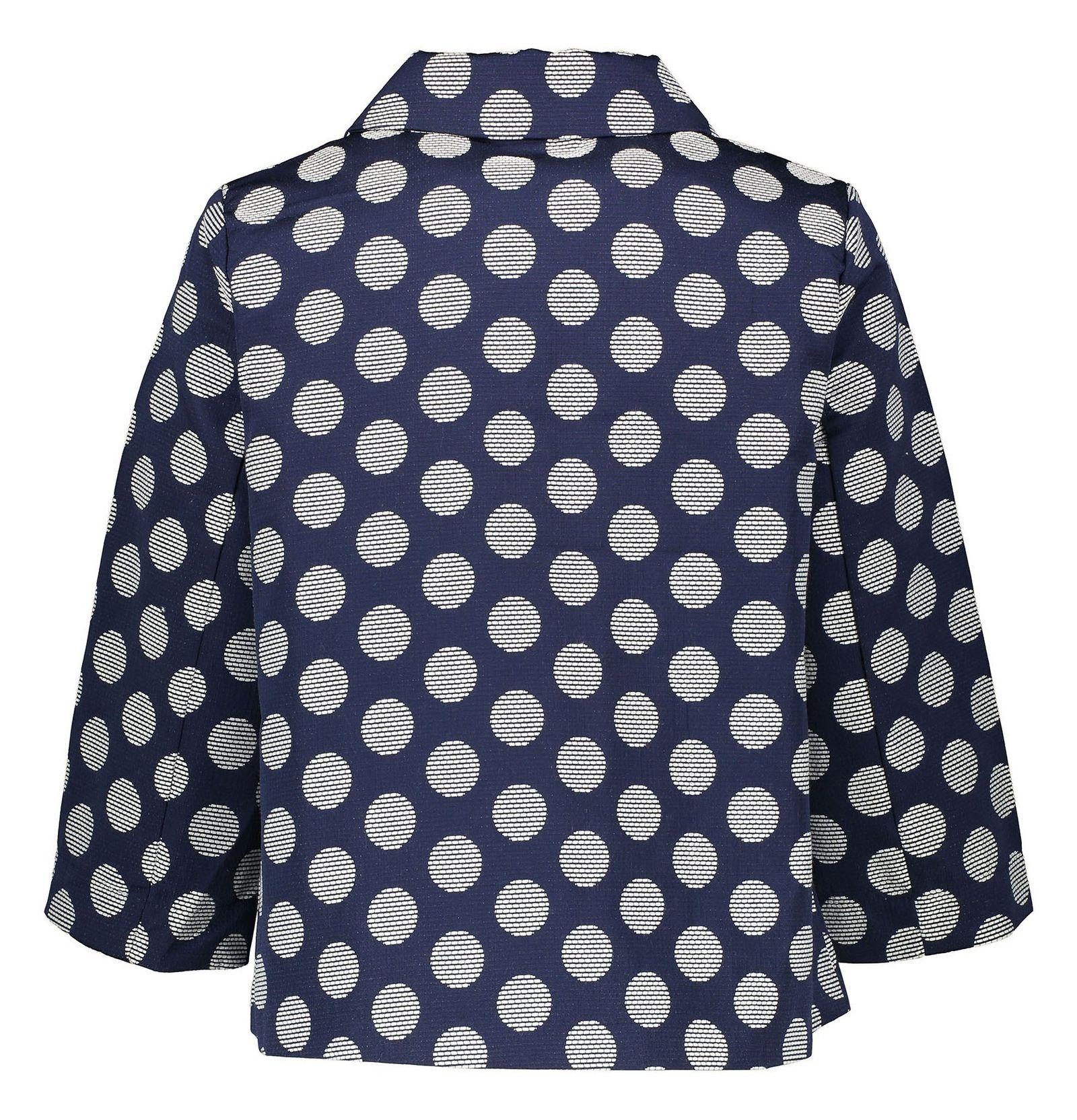 کت کوتاه زنانه - یوپیم - سرمه اي - 4