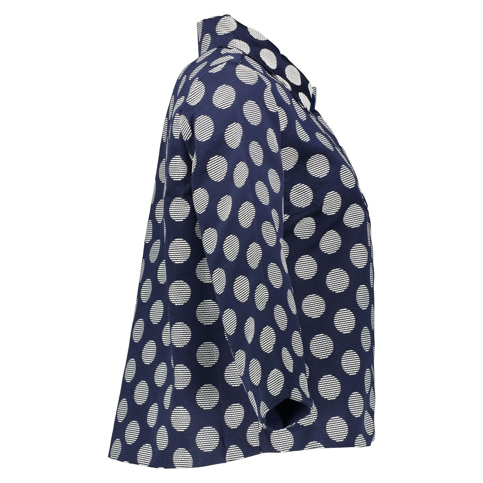 کت کوتاه زنانه - یوپیم - سرمه اي - 5