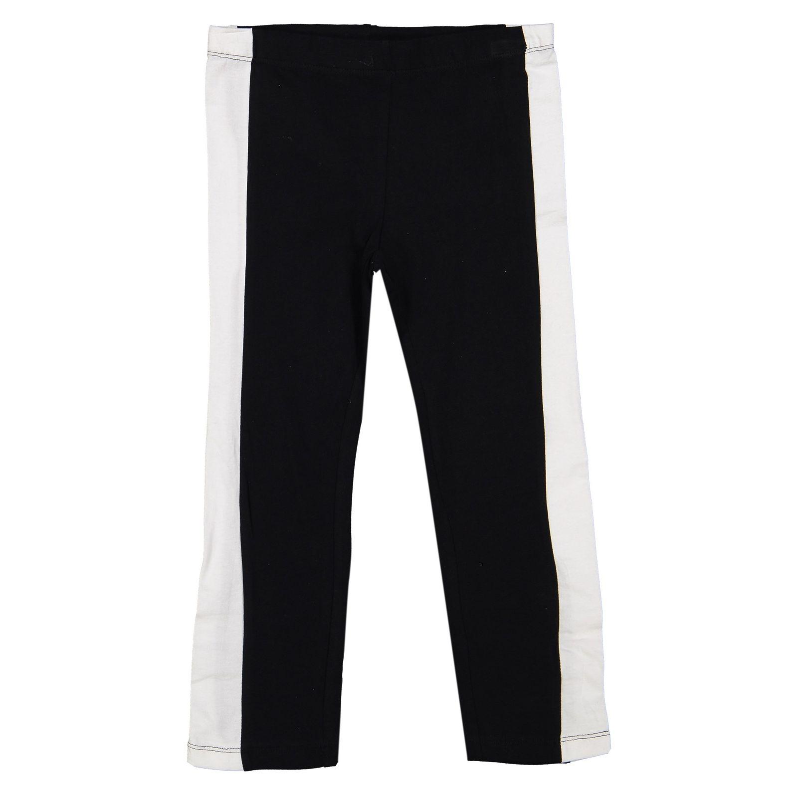 تی شرت و شلوار دخترانه - بلوکیدز - سفيد/مشکي - 5