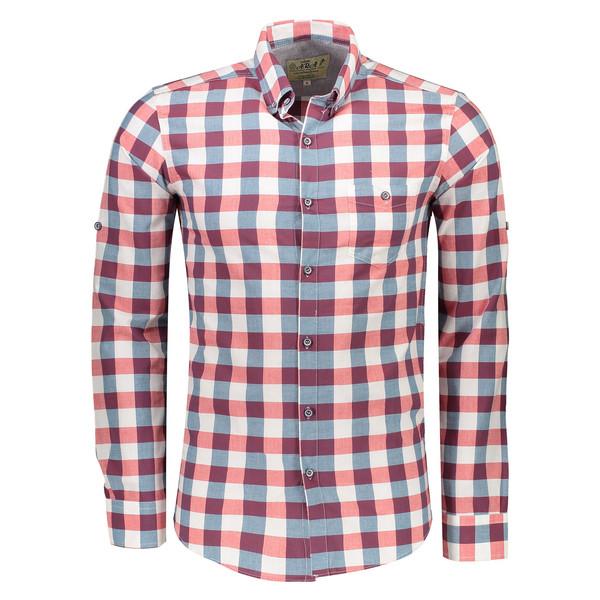پیراهن یقه برگردان مردانه - آرا