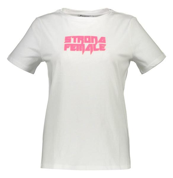 تی شرت نخی یقه گرد زنانه - پی سز