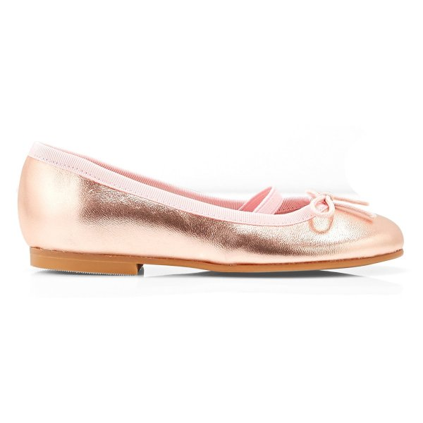 کفش تخت چرم عروسکی دخترانه Dittle Irisee - جاکادی