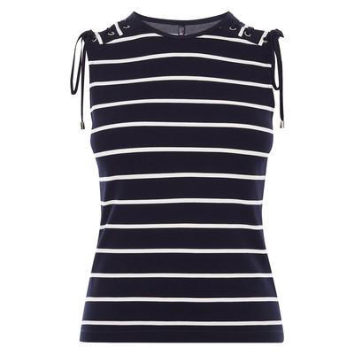 تی شرت ویسکوز یقه گرد زنانه - کارن میلن