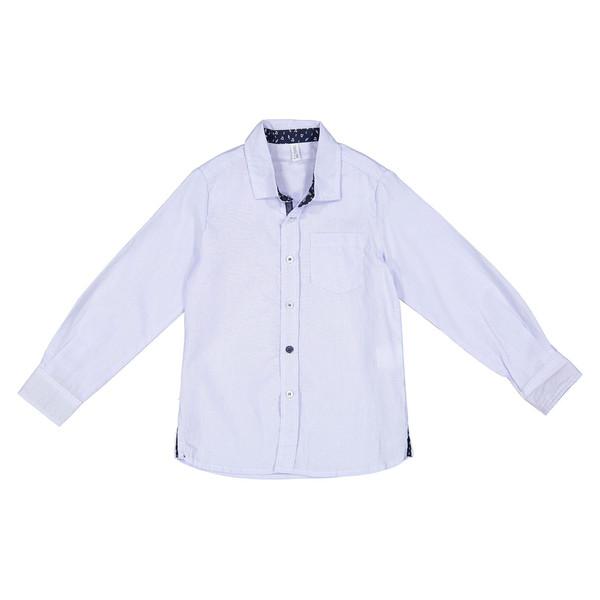 پیراهن نخی یقه برگردان پسرانه - ایدکس