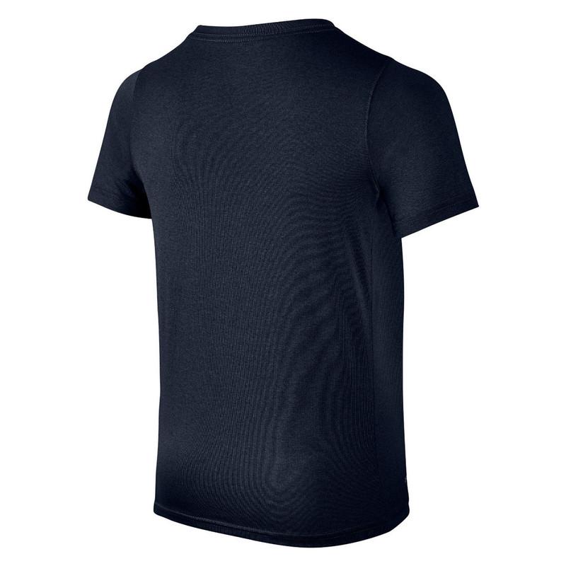 تی شرت ورزشی نخی آستین کوتاه پسرانه - نایکی