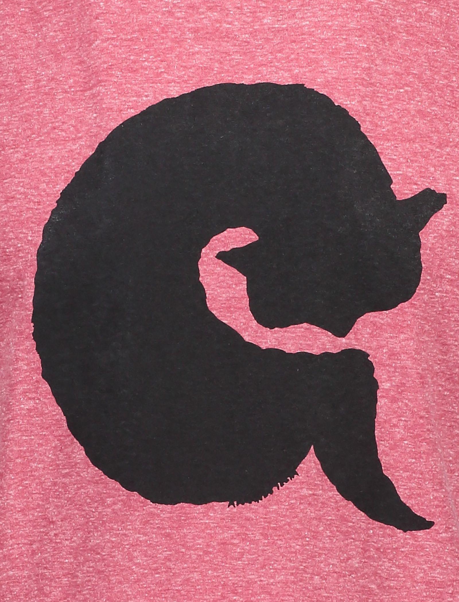 تی شرت یقه گرد مردانه - متی - قرمز - 4