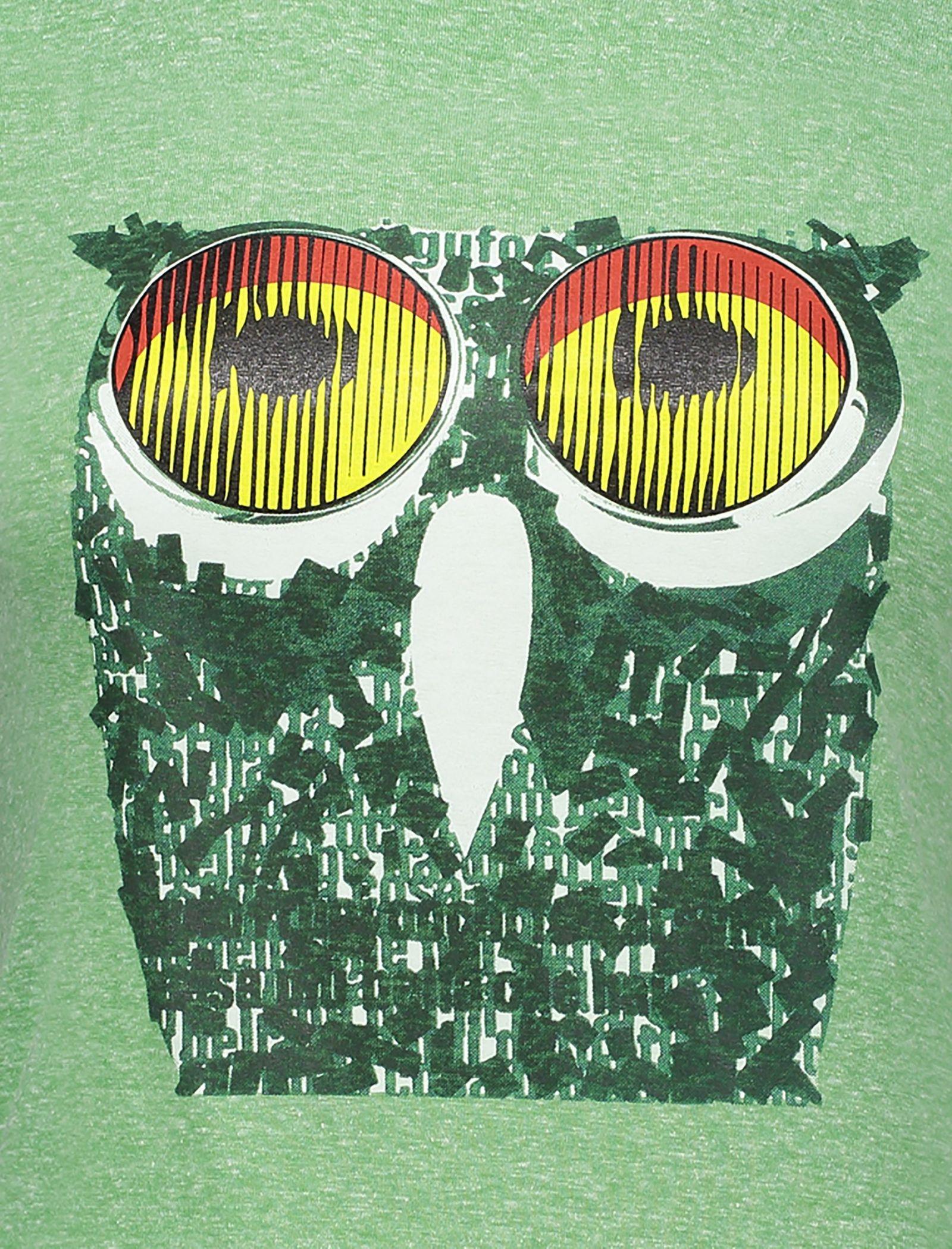 تی شرت یقه گرد زنانه - متی - سبز - 4