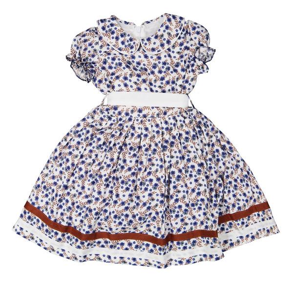 پیراهن مهمانی دخترانه - جم گل