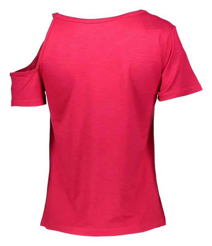 تی شرت نخی یقه گرد زنانه - گارودی