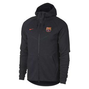هودی نخی زیپ دار مردانه FC Barcelona Tech Fleece - نایکی
