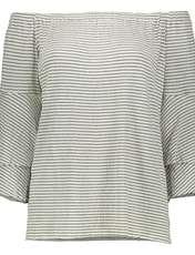 تی شرت ویسکوز یقه گرد زنانه - ویولتا بای مانگو - سفید - 1