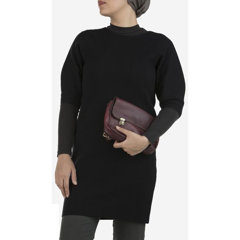 پیراهن بافت کوتاه زنانه - استفانل