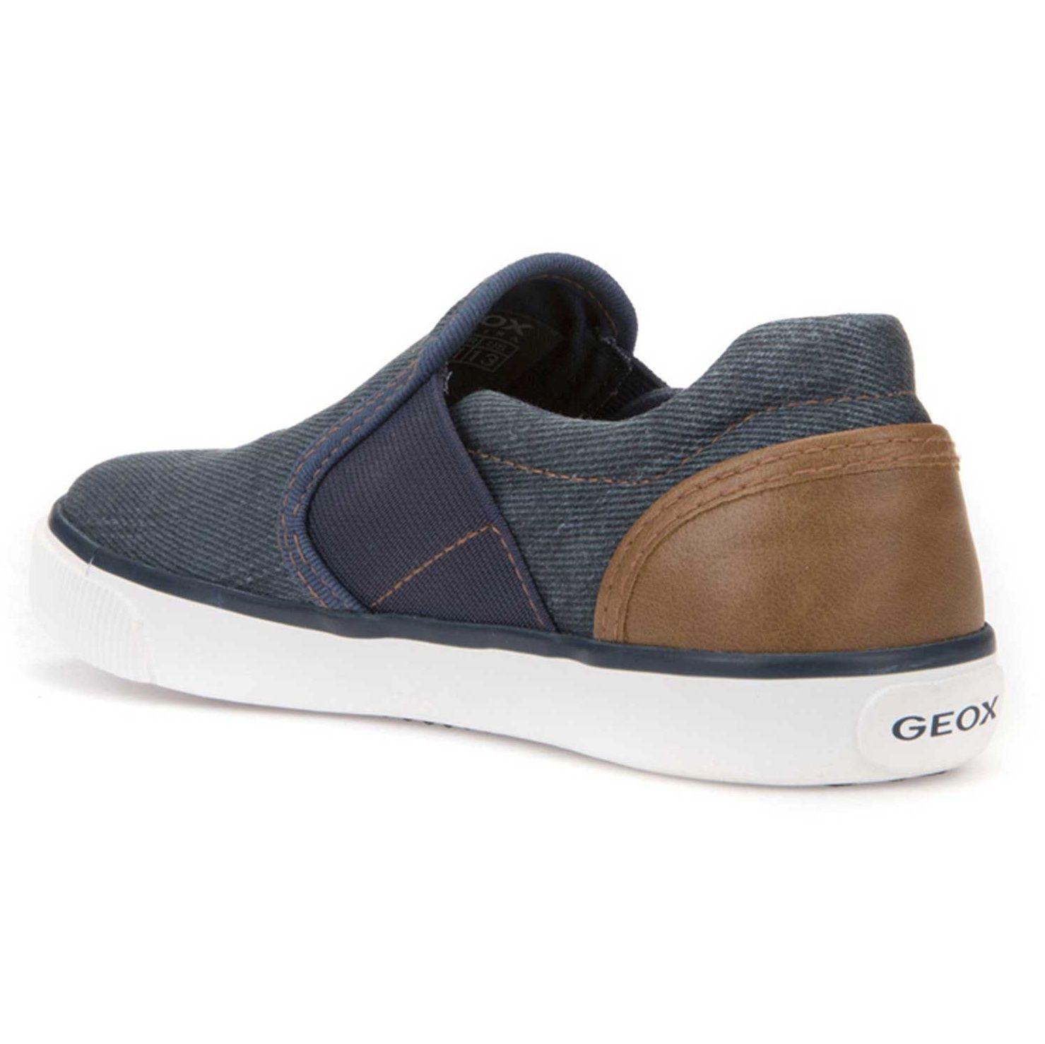 کفش راحتی بند کشی پسرانه - جی اوکس - آبي - 3