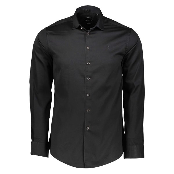 پیراهن نخی یقه برگردان مردانه - رونی