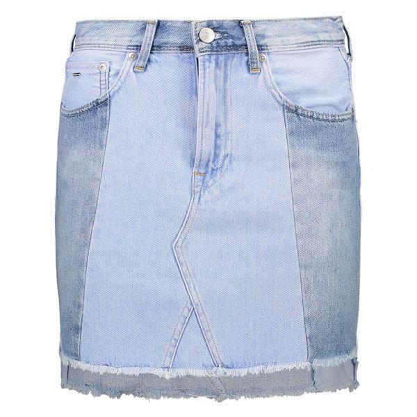 دامن جین کوتاه زنانه Reborn Skirt - پپه جینز