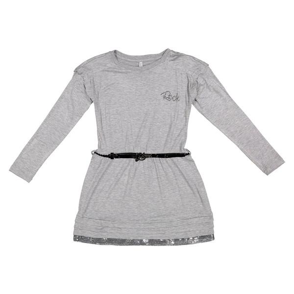 پیراهن ویسکوز روزمره دخترانه - ایدکس
