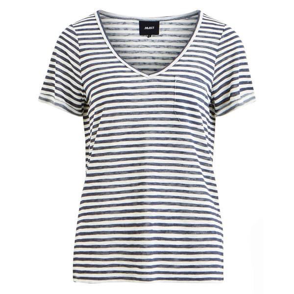 تی شرت یقه هفت زنانه - آبجکت