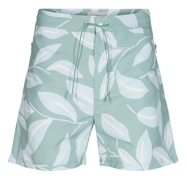 شلوارک طرح دار مردانه Soe Tropical - مینیموم