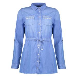 پیراهن جین روزمره دخترانه - پپه جینز